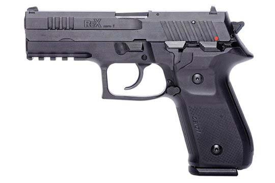 Arex Rex Zero 1S Standard 9mm Luger Black Frame