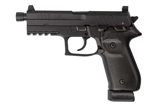 Arex Rex Zero 1T Tactical 9mm Luger Black Frame