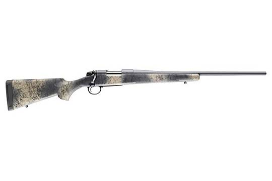 Bergara B-14 Wilderness Hunter .308 Win. Sniper Gray Cerakote/Woodland Camouflage Handguard/Stock Bolt Action Rifle UPC 43125015283