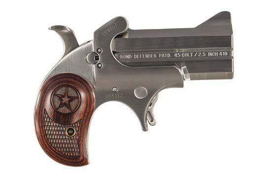 Bond Arms Defender Cowboy Defender .45 Colt  Single Shot Pistol UPC 855959001178