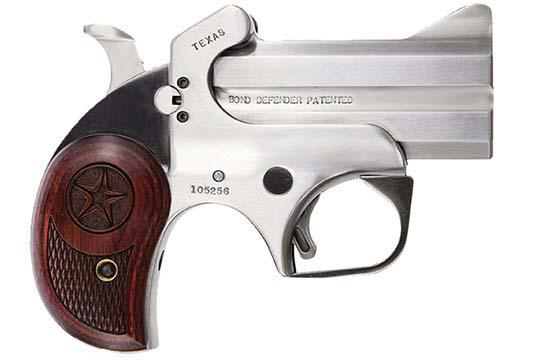 Bond Arms Defender Texas Defender 9mm Luger (9x19 Para)  Single Shot Pistol UPC 855959001109
