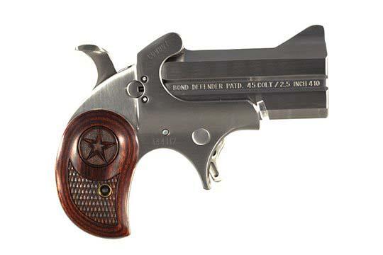 Bond Arms Defender Cowboy Defender .45 Colt  Single Shot Pistol UPC 855959001185