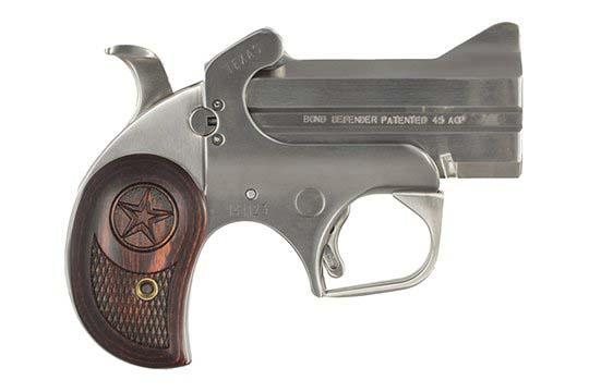 Bond Arms Defender Texas Defender .45 ACP  Single Shot Pistol UPC 855959001062