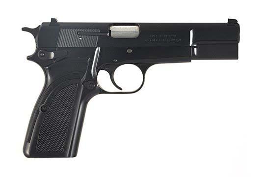 Browning Hi-Power  9mm Luger (9x19 Para)  Semi Auto Pistol UPC 23614237648