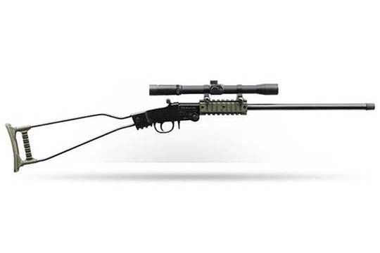 Chiappa Firearms Little Badger Black/OD Green .22 LR Blued Receiver