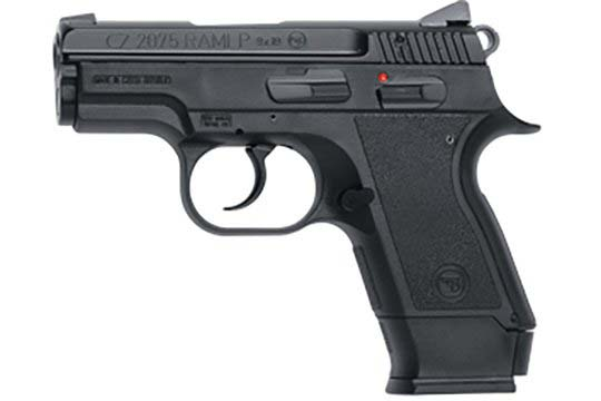 CZ-USA 2075  9mm Luger (9x19 Para)  Semi Auto Pistol UPC 806703017501