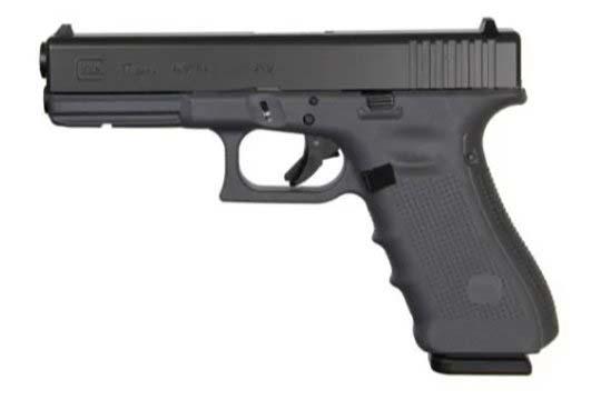 Glock G17 Gen 4 9mm Luger Gray Cerakote Frame