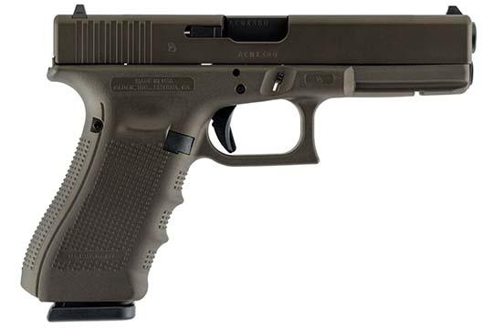 Glock G17 Gen 4 9mm Luger Midnight Bronze Cerakote Frame
