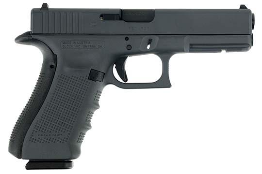 Glock G17 Gen 4 9mm Luger Sniper Gray Cerakote Frame