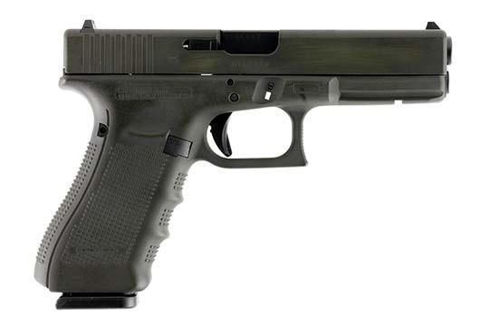 Glock G17 Gen 4 9mm Luger Battleworn OD Green Cerakote Frame