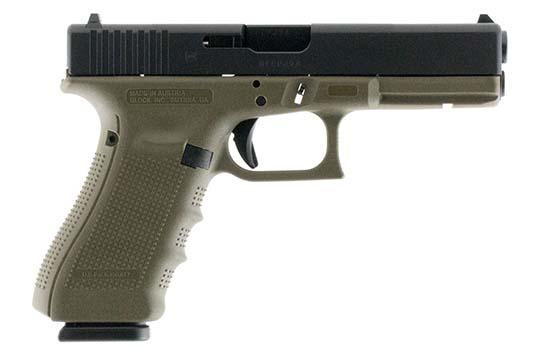 Glock G17 Gen 4 9mm Luger OD Green Cerakote Frame
