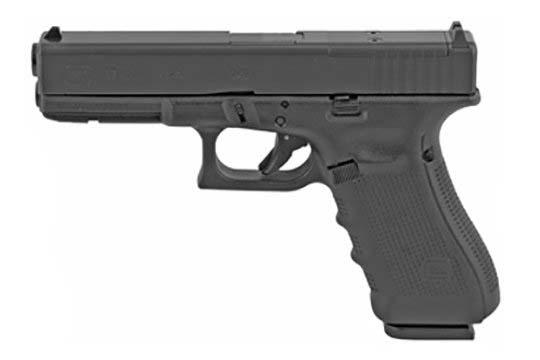 Glock G17 Gen 4 MOS 9mm Luger Black Frame