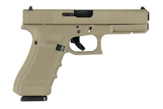 Glock G17 Gen 4 9mm Luger Flat Dark Earth Cerakote Frame