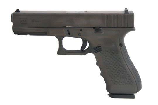 Glock G17 Gen 4 9mm Luger Distressed Brown Cerakote Frame