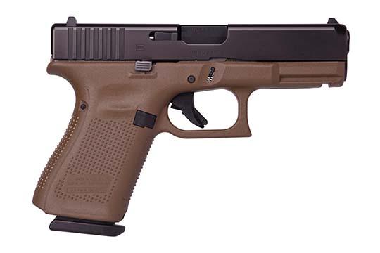 Glock G19 Gen 5 9mm Luger Flat Dark Earth Cerakote Frame
