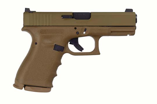 Glock G19 Gen 3 9mm Luger Flat Dark Earth Cerakote Frame