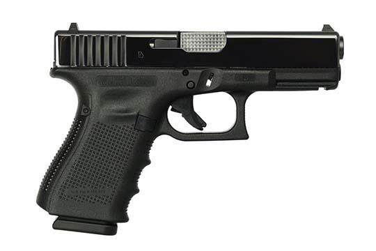 Glock G19 Gen 4 9mm Luger Black Frame