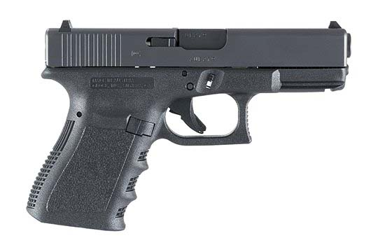 Glock G19 Gen 3 9mm Luger Black Frame