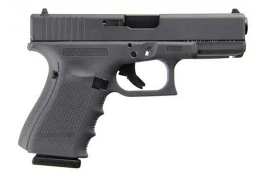 Glock G19 Gen 4 9mm Luger Gray Cerakote Frame