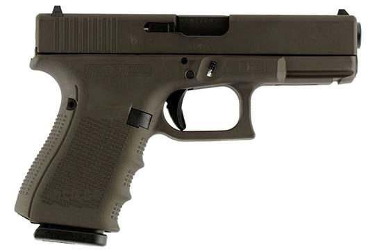 Glock G19 Gen 4 9mm Luger Midnight Bronze Cerakote Frame