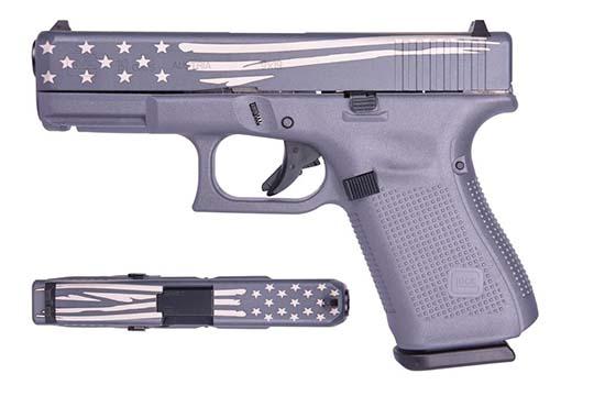 Glock G19 Gen 5 9mm Luger Gray Cerakote Frame
