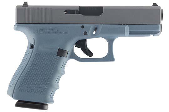 Glock G19 Gen 4 9mm Luger Blue Titanium Cerakote Frame