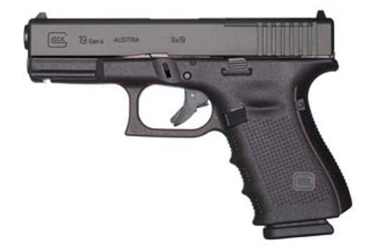 Glock G19 Gen 4 MOS 9mm Luger Black Frame
