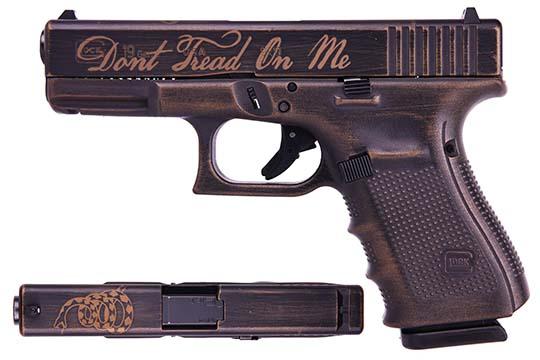 Glock G19 Gen 4 9mm Luger Battleworn Burnt Bronze Cerakote Frame