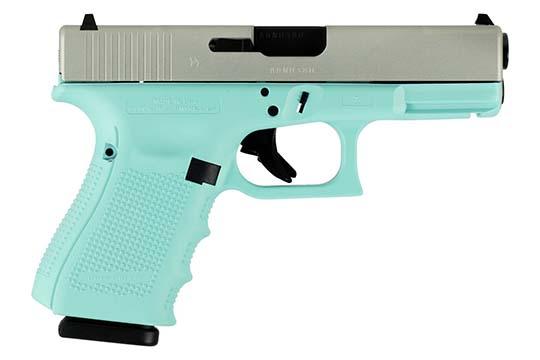 Glock G19 Gen 4 9mm Luger Robin Egg Blue Cerakote Frame
