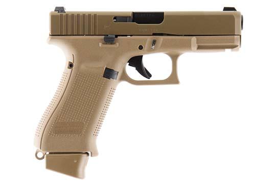 Glock G19X Gen 5 9mm Luger Coyote Tan Cerakote Frame