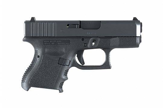 Glock G26 Gen 3 9mm Luger Black Frame