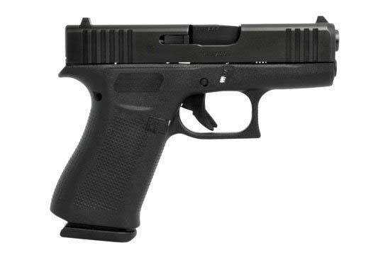 Glock G43X Gen 5 9mm Luger Black Frame