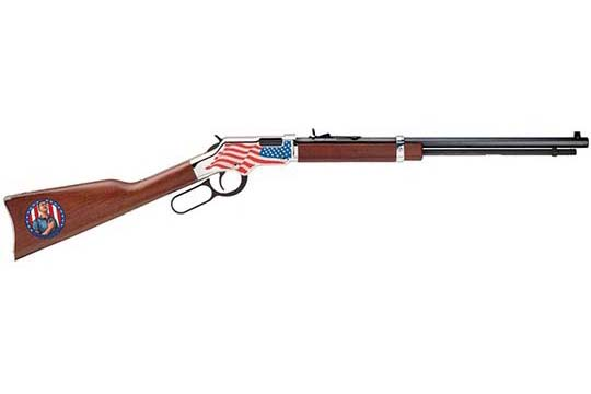 Henry Repeating Arms Patriot Stand For the Flag Edition .22 LR Nickel Plated