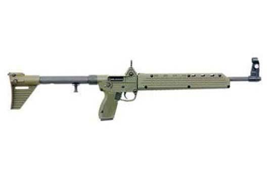 KelTec SUB2000 9mm Beretta 92 Mag. 9mm Luger Green Receiver
