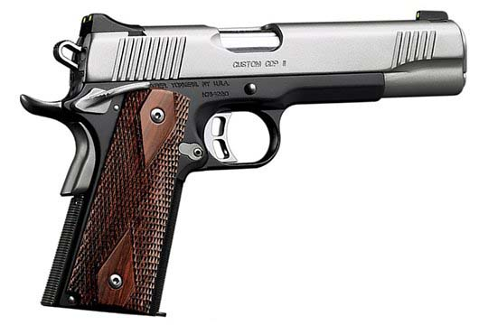 Kimber Custom CDP II  .45 ACP  Semi Auto Pistol UPC 669278320182