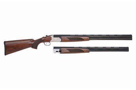 Mossberg Silver Reserve II Field Combo  Silver Engraved Receiver