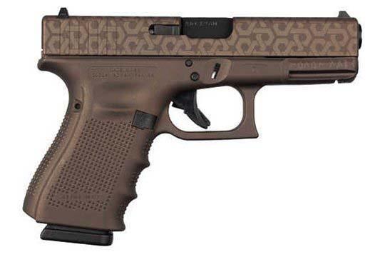 Glock G19 Gen 4 9mm Luger Bronze Spartan Cerakote Frame