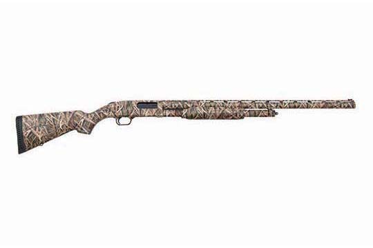 Mossberg 500 Waterfowl  Mossy Oak Shadowgrass Blades Camo Receiver