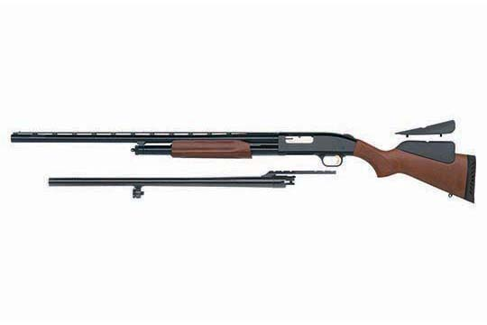 Mossberg 500 Hunting Field/Deer Combo  Blued Receiver