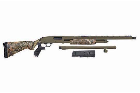 Mossberg 500 FLEX Turkey/Security Combo  OD Green Receiver