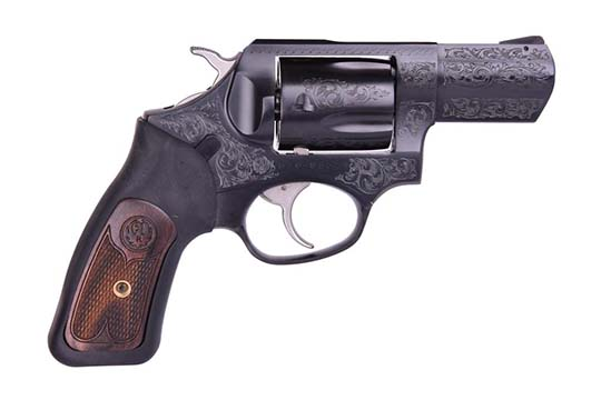 Ruger SP101 Deluxe .357 Mag. Blued Engraved Frame
