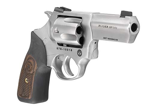 Ruger SP101 Wiley Clapp .357 Mag. Satin Stainless Frame