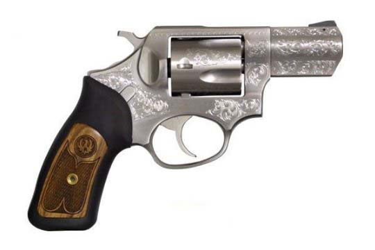 Ruger SP101 Deluxe .357 Mag. Engraved Satin Stainless Frame