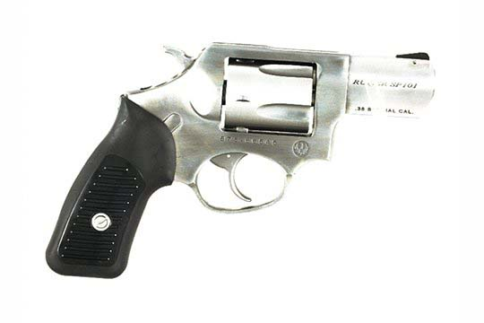 Ruger SP101 Standard .38 Special +P Satin Stainless Frame