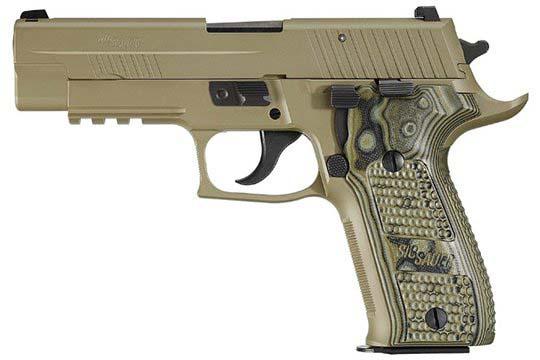 Sig Sauer P226 Scorpion 9mm Luger Flat Dark Earth PVD Frame
