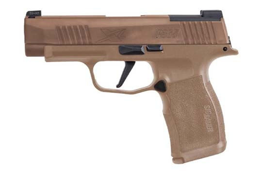Sig Sauer P365 XL NRA 9mm Luger Coyote Tan PVD Frame