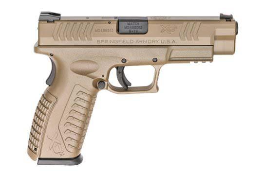 Springfield Armory XD-M Standard 9mm Luger Flat Dark Earth Frame