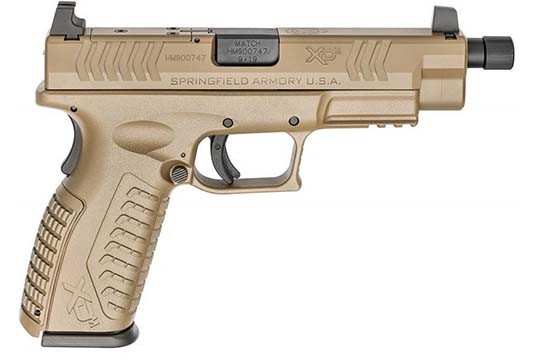 Springfield Armory XD-M OSP 9mm Luger Flat Dark Earth Frame