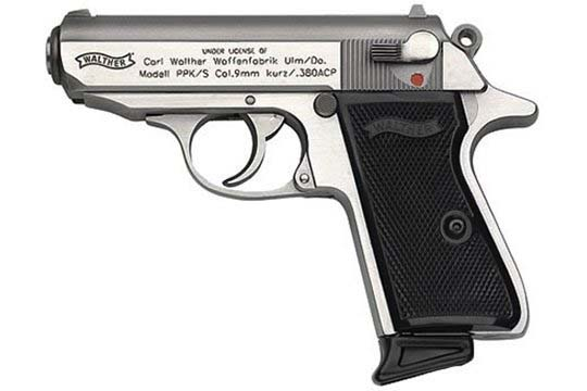 Walther PPK PPK/S .380 ACP  Semi Auto Pistol UPC 698958030004