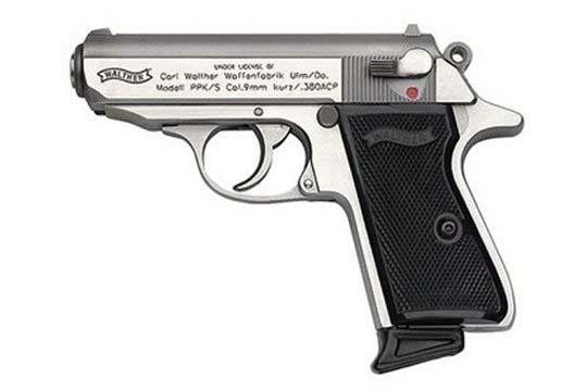 Walther PPK  .380 ACP  Semi Auto Pistol UPC 698958002643